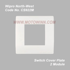 Wipro, North-West Cover PLATE 2 Module NATURAL WHITE (REF. No. CS922M)